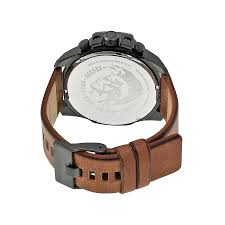 diesel black friday deals diesel mega chief black dial brown leather men u0027s quartz watch
