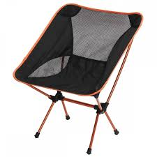 Patio Folding Chair by Aluminum Alloy Portable Folding Chairs Picnic Hiking Fishing