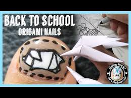 nail hack back to origami nails meliney how to trace