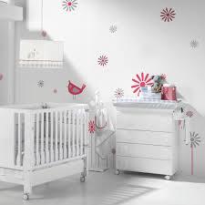 chambre fille et blanc chambre bébé blanche