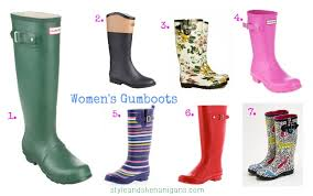 sns autumn winter style update gumboots for style