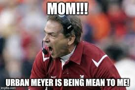 Nick Saban Memes - friday skull session eleven warriors snicker snort