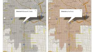 Los Angeles City Council District Map by 10 Changes On The New City Council District Map Curbed La