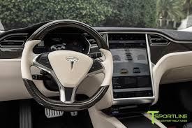bentley white interior pearl white tesla model s 2 0 custom bentley linen and ferrari