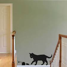 Decoration Cat Wall Decals Home by Wall Art Designs Cat Wall Art Hoopoe Decor Cat Landing With