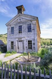 abandoned montana historic gold rush town lies empty in all its