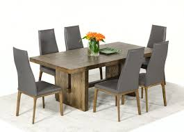 Modern Oak Dining Tables Cologne Modern White Wash Oak Dining Table