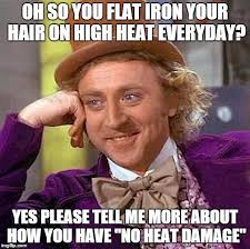 Heat Memes - creepy condescending wonka meme imgflip