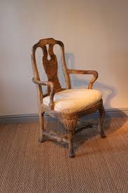Swedish Painted Furniture Wonderful 18th Cent Painted Swedish Rococo Armchair Furniture