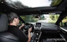 lexus nx hybrid al volante la prova su strada della hybrid 4wd f sport