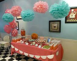 confirmation party supplies trolls party pom poms tissue paper pom poms rainbow party