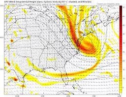 New England Coast Map by Models Locking Onto Dangerous Powerful Coastal Storm Nor U0027easter