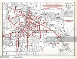 of akron map akron ohio stock illustrations and getty images