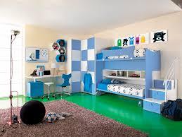chambre d enfant bleue pour garçon sport calcio 6 faer ambienti