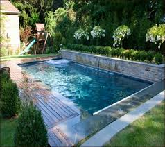 Backyard Swimming Pool Designs by Small Backyard Inground Pool Design Small Backyard Inground Pool