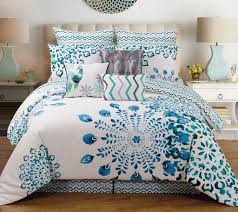 Cal King Bedding Sets Cal King Bedding Ensembles With Teal White 7 Cal