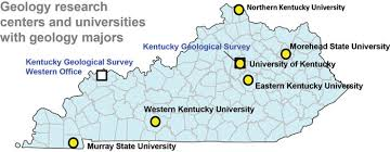 kentucky geologic map information service kentucky earth science information sources