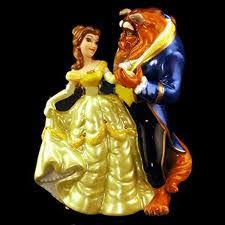 beauty and the beast cake topper beauty and the beast wedding cake topper the wedding