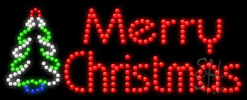 merry animated outdoor led sign 11 x