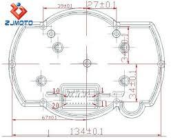 china product universal adjustable lcd digital motorcycle