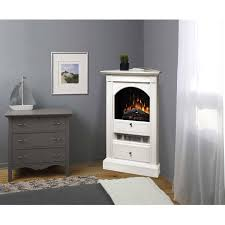 white corner electric fireplace idea home design ideas