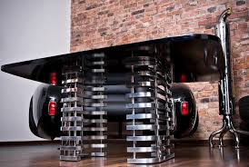 Car Office Desk Luxury Furniture Collection Made By Real Car Parts Decoholic