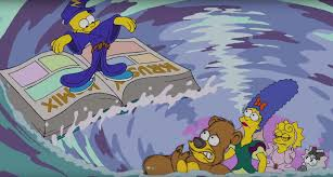 the simpsons the simpsons go all disney in new couch animated by eric