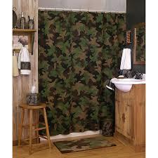 Camo Bathroom Decor Perfect Ideas Camo Shower Curtain Pretty Inspiration Realtree Bath