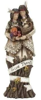 thanksgiving figures harvest give thanks thanksgiving pilgrim figures