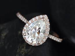 teardrop engagement rings teardrop wedding rings gold teardrop style engagement ring