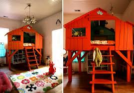 fabriquer une cabane a la maison