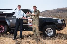 nissan safari off road this nissan patrol helps protect rhinos in south africa
