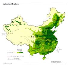 Map Of China Rivers by Regional Cuisines
