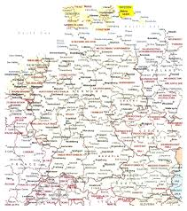 Maps Of Germany by Maps Of Germany Stuning Map Germany With Cities Evenakliyat Biz
