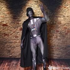 darth vader halloween costume star wars darth vader morphsuit morph costumes uk