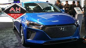 best connected car of ces 2017 hyundai blue link with google home