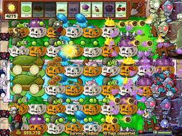 Chinese Flag Wiki Image Survival Endless 30 Flag Jpg Plants Vs Zombies Wiki