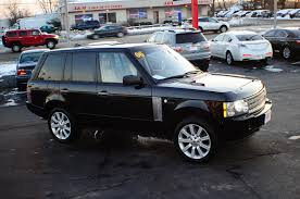 land rover 2007 black 2006 land rover range rover black sport supercharged nav 4x4