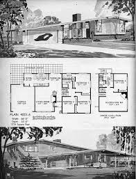 Kaufmann Desert House Floor Plan 1106 Best Mid Century Modern Houses And Floor Planes Images On