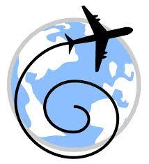 aereo clipart mondo ed aereo immagine stock immagine di atterraggio 31748217