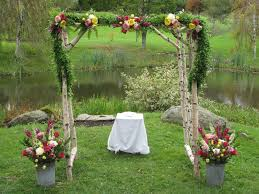 wedding arbor a floral arbor for your wedding floral artistry by alison ellis