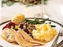 traditional thanksgiving dinner menu myrecipes