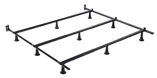 Metal Bed Frame Support New Features Rev Up Steel Frames Support Systems Bedtimes