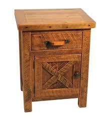 Southwestern Bedroom Furniture Rustic Reclaimed Barnwood Nightstand Lodge Cabin Northwoods