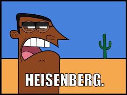 Heisenberg Meme - heisenberg dinkleberg know your meme