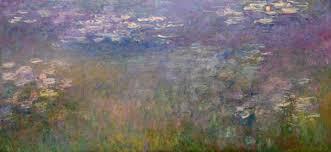 Claude Monet Blind Monet U0027s Shimmering Mirror Of Water Grafico Topico