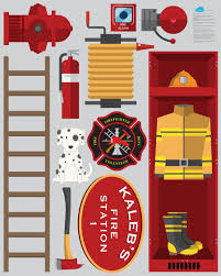fire station theme pack 11 wall decals kidscutouts com fire station theme wall decals