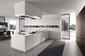 kitchen chic white kitchen decor with rectangle white modern