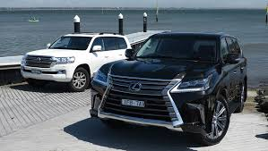 is lexus toyota toyota landcruiser and lexus lx570 2016 review carsguide