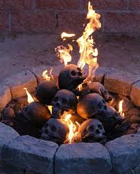 Artificial Logs For Fireplace by Skull Fireplace